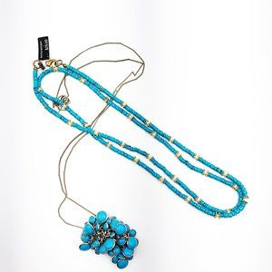 J. Crew Set of Two Turquoise Layering Necklaces
